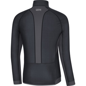 GORE WEAR R3 Partial Gore Windstopper Paita Miehet, black/terra grey